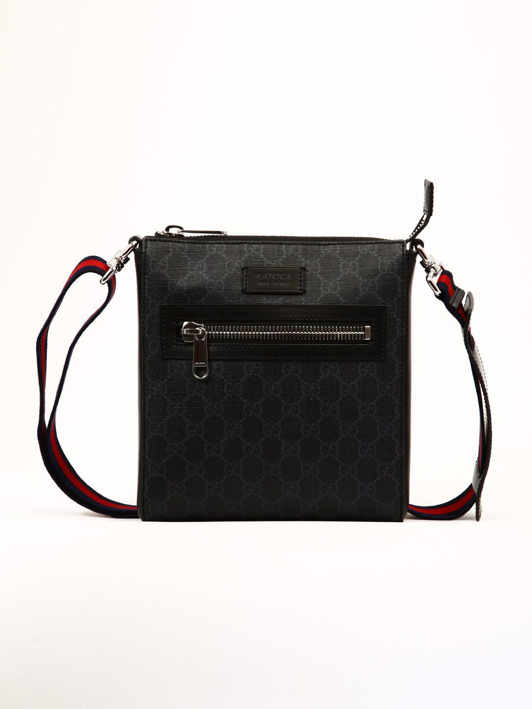 6501eac62f1 Gucci Gg Supreme Messenger Bag In Black. CETTIRE