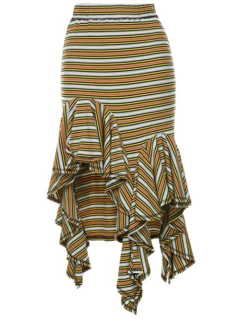 Romance Was Born Practical Magic Frill Skirt In Multicolour
