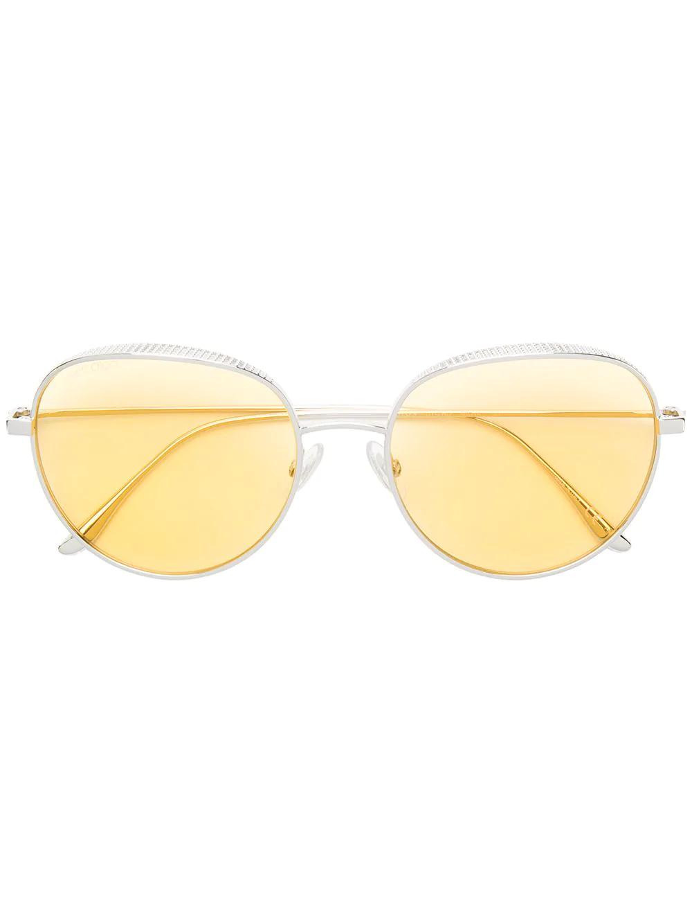 045abd23367 Jimmy Choo Eyewear Ellos Sunglasses - Gold. Farfetch