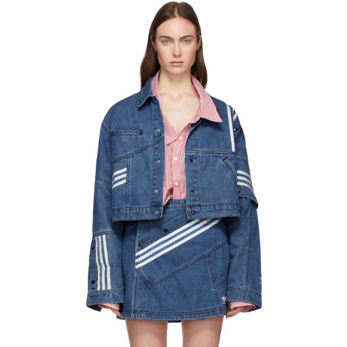 e94ec72dda Adidas Originals By Danielle Cathari Blue Denim Jacket