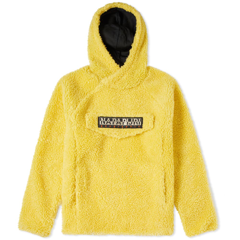 3db5f2642 Napapijri Tribe Telve Fleece Popover Hoody in Yellow