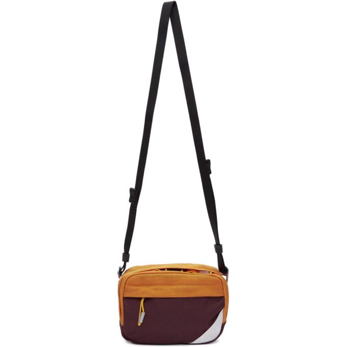 1f3e47d22ef10f Acne Studios Burgundy Bla Konst Hidey Bum Bag | ModeSens