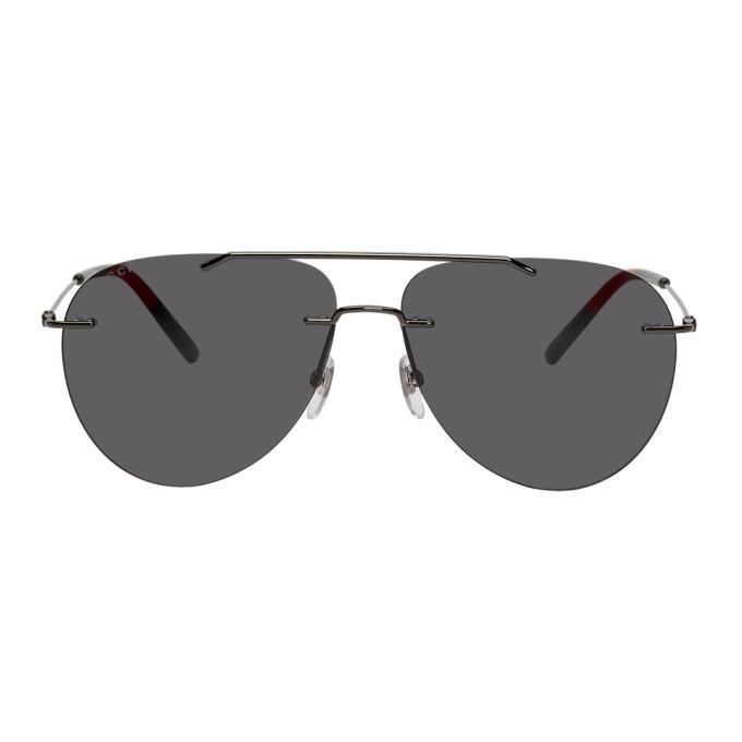 6f507cbd Gunmetal Masculine 80's Sunglasses in 001 Rutblk