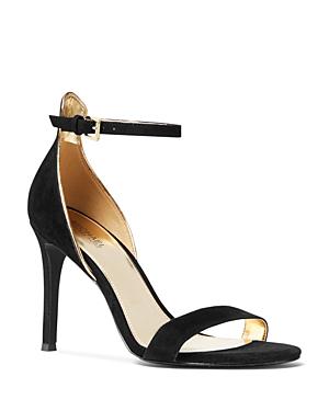 b406c302915 Women's Harper High-Heel Sandals in Black Suede