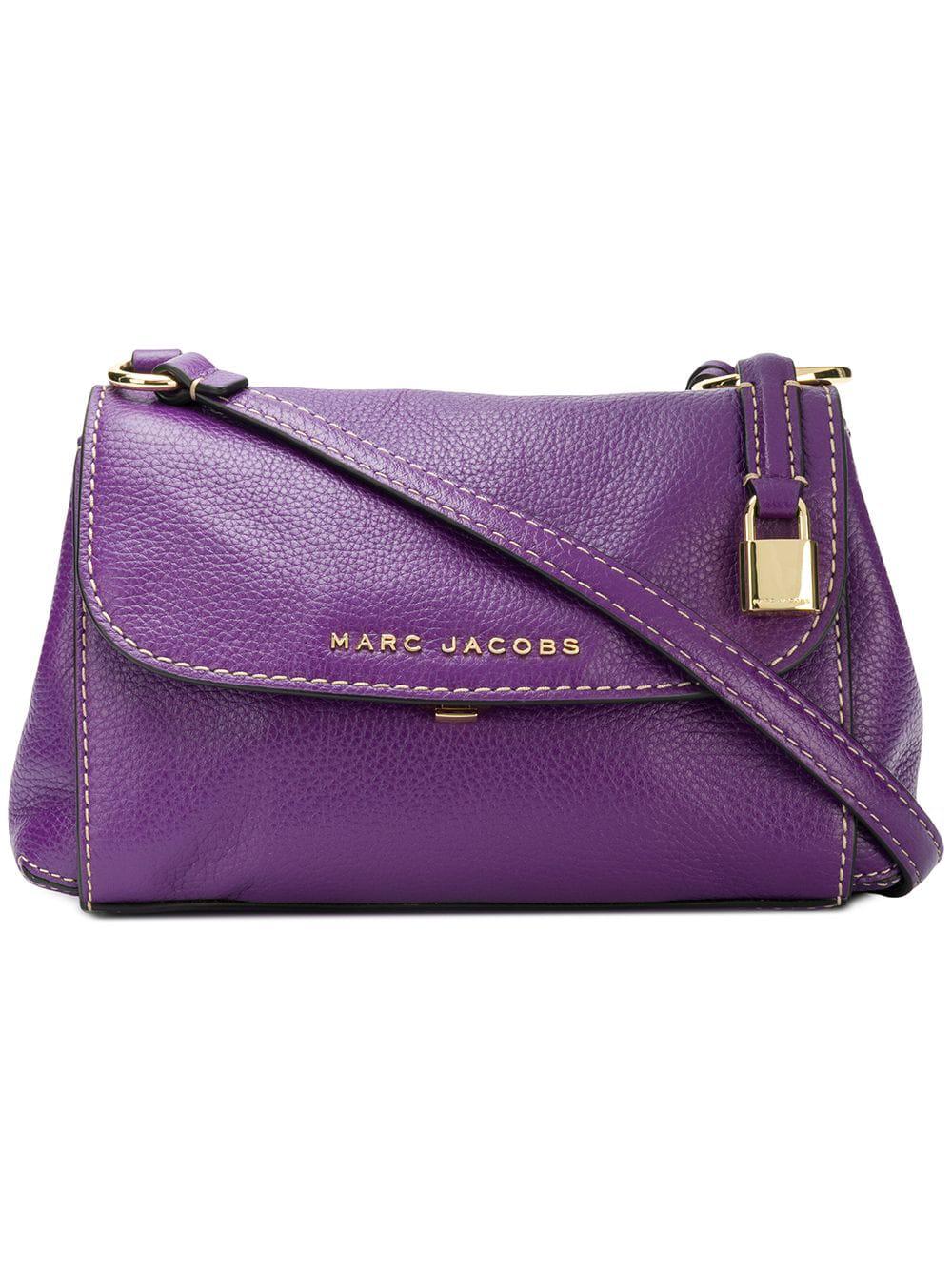 4c4bb71e977b Marc Jacobs Mini Grind Shoulder Bag - Purple