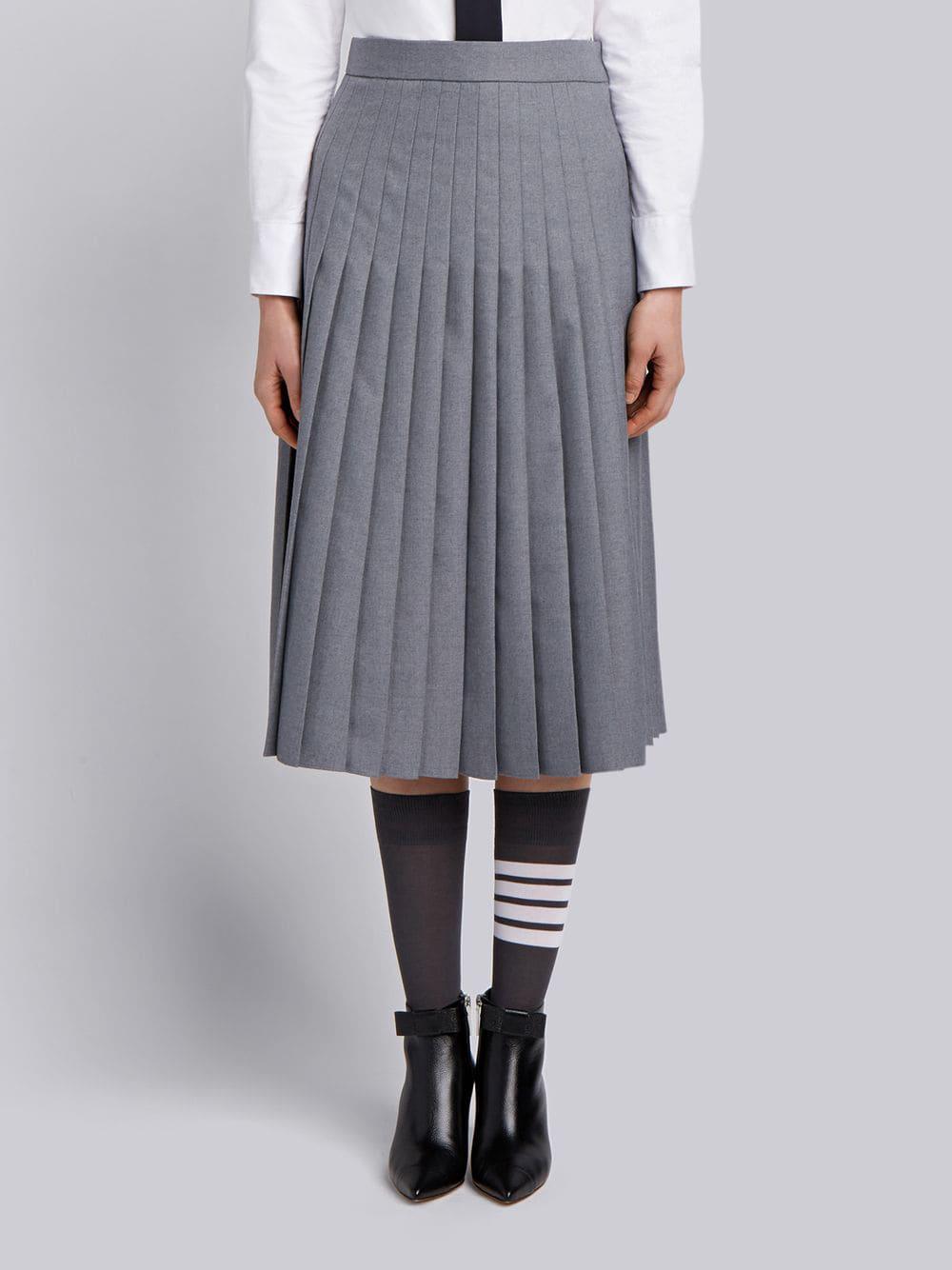 64dd15a68 Long Grey School Skirts - raveitsafe