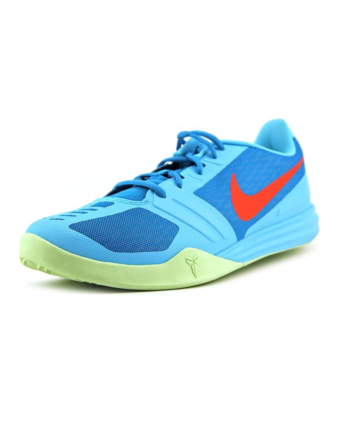 bf8f91777dfb Nike Kobe Mentality Men Round Toe Synthetic Blue Basketball Shoe ...