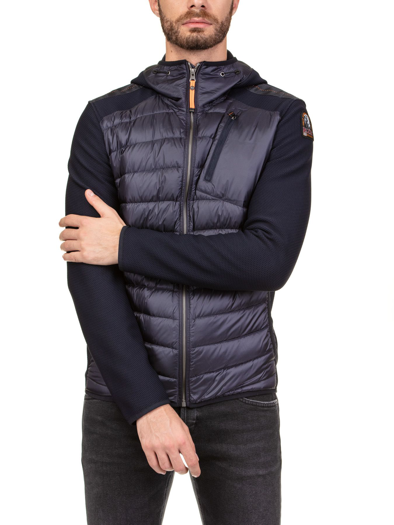 6fd570a3 Parajumpers Nolan Down Jacket In Blue   ModeSens
