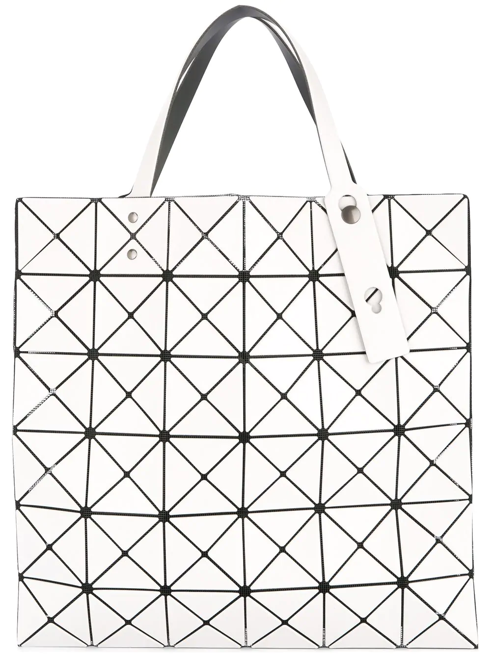 Bao Bao Issey Miyake Prism Tote Bag In White