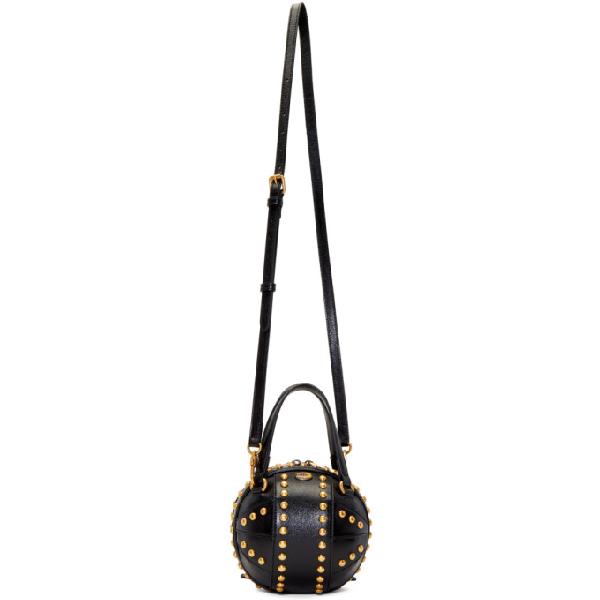 51d3be00a Gucci Tifosa Mini Studded Sphere Shoulder Bag In 1000 Black   ModeSens