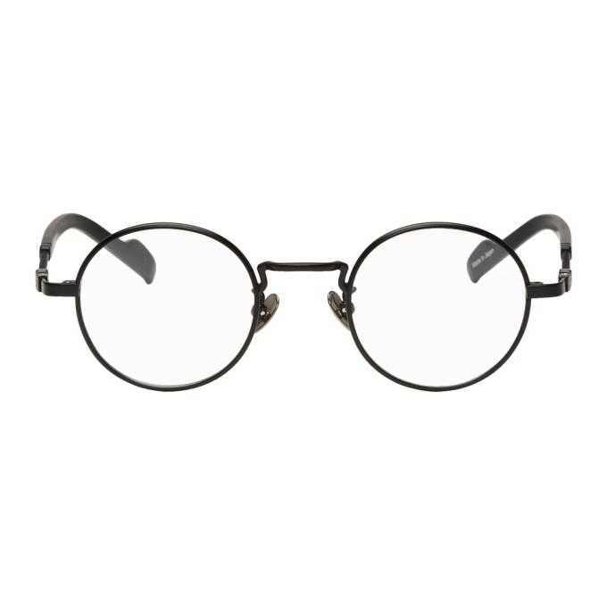 03932d67c1f Yohji Yamamoto Black Braided Glasses In 001 Black