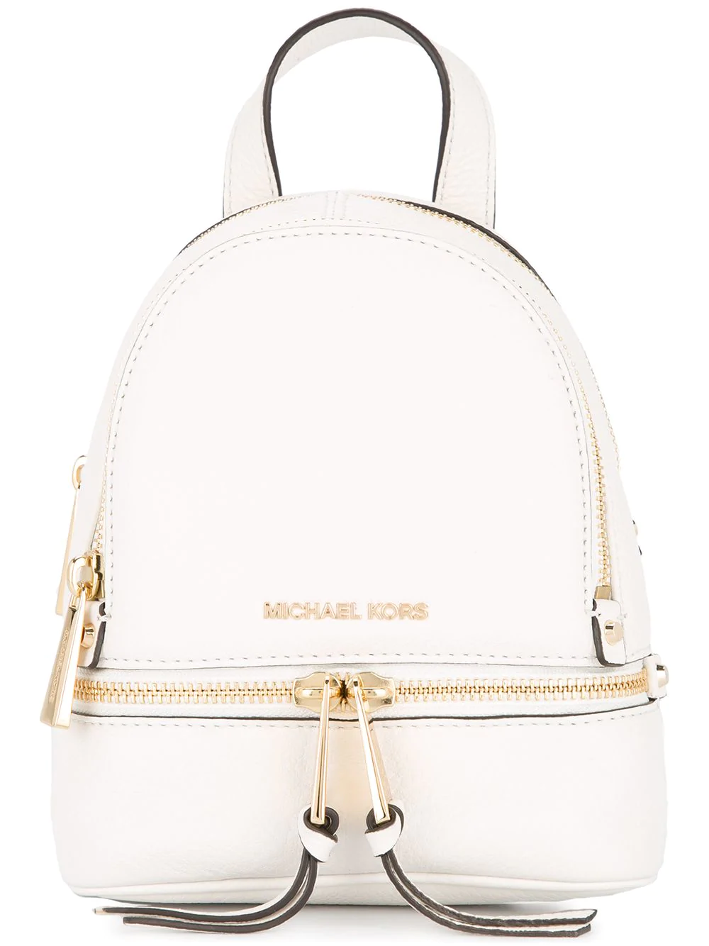 1247539c8db1 Michael Kors Rhea Mini Backpack In White