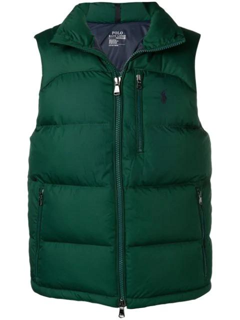 Polo Ralph Lauren Padded Vest - Green