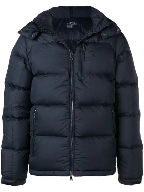 Polo Ralph Lauren Hooded Padded Jacket - Blue