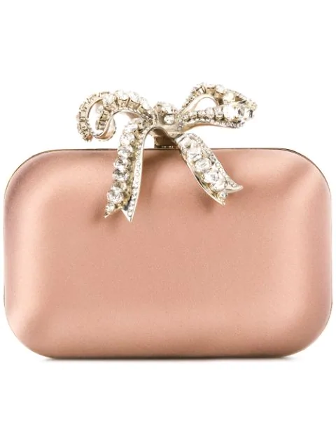 Jimmy Choo Cloud Clutch In Pink