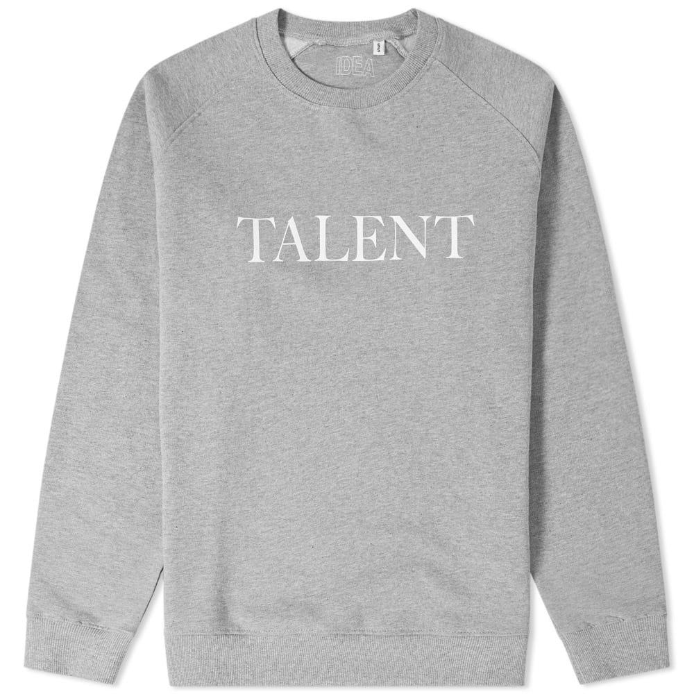 Idea Talent Crew Sweat In Grey