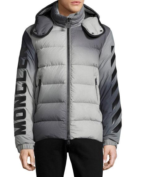 b3e451a3c Enclos Ombré Hooded Puffer Jacket, Gray