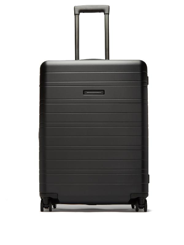 Horizn Studios H6 Smart Medium Hardshell Check-in Suitcase In Black