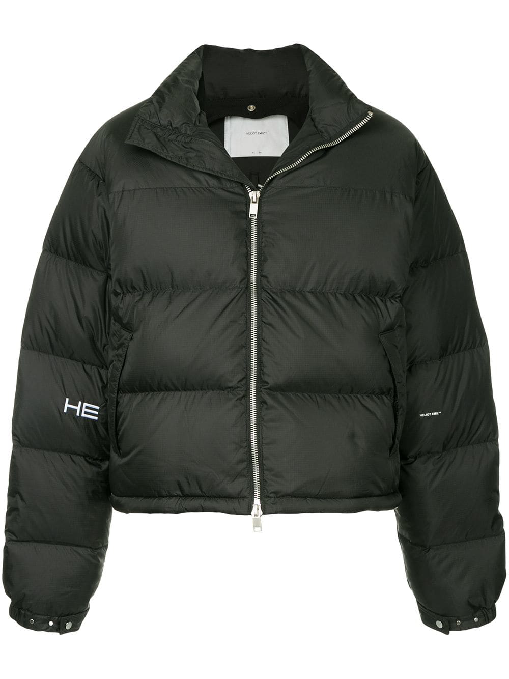 001719e3d Heliot Emil Down Jacket With Vest - Black