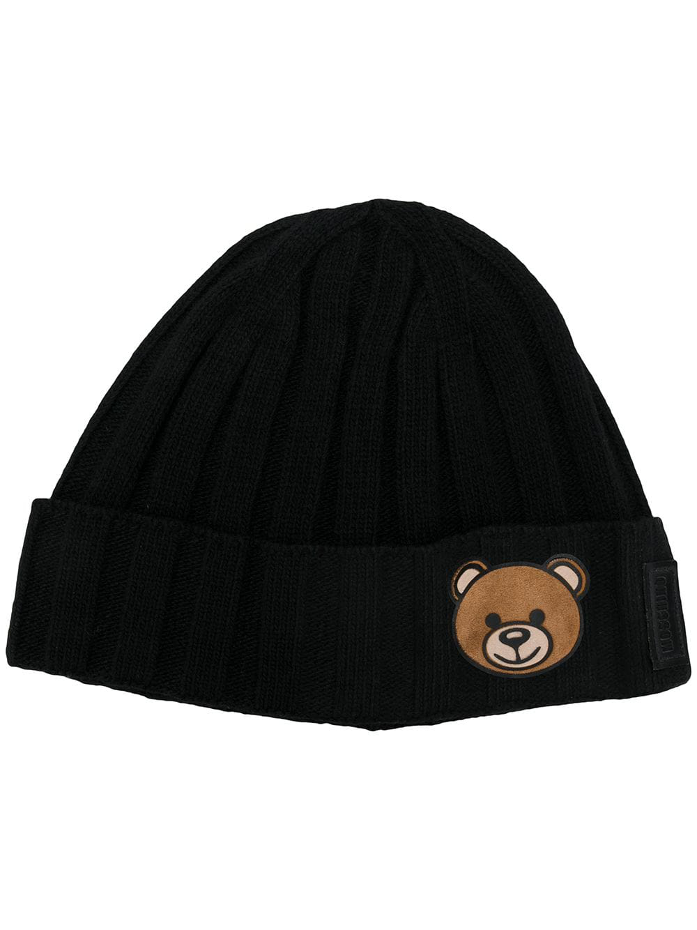 ad6b854e80fbe8 Moschino Teddy Bear Beanie In Black | ModeSens