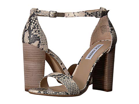 cf5f45cf15b A minimalist ankle-strap sandal is set on a chunky heel. Style Name  Steve  Madden Carrson Sandal (Women). Style Number  5047376 6. Available in stores.