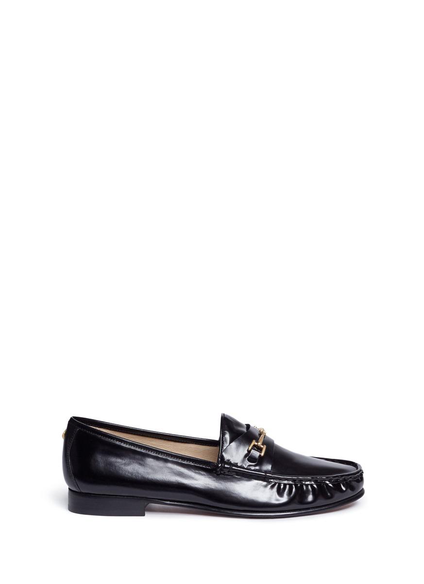 d281fb84b41 Sam Edelman  Talia  Metal Link Leather Loafers