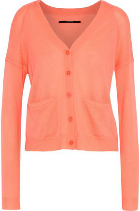 J Brand Woman Cashmere Cardigan Coral