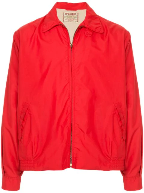Pre-owned Fake Alpha Vintage 1960's Anti-freeze Jacket In Red