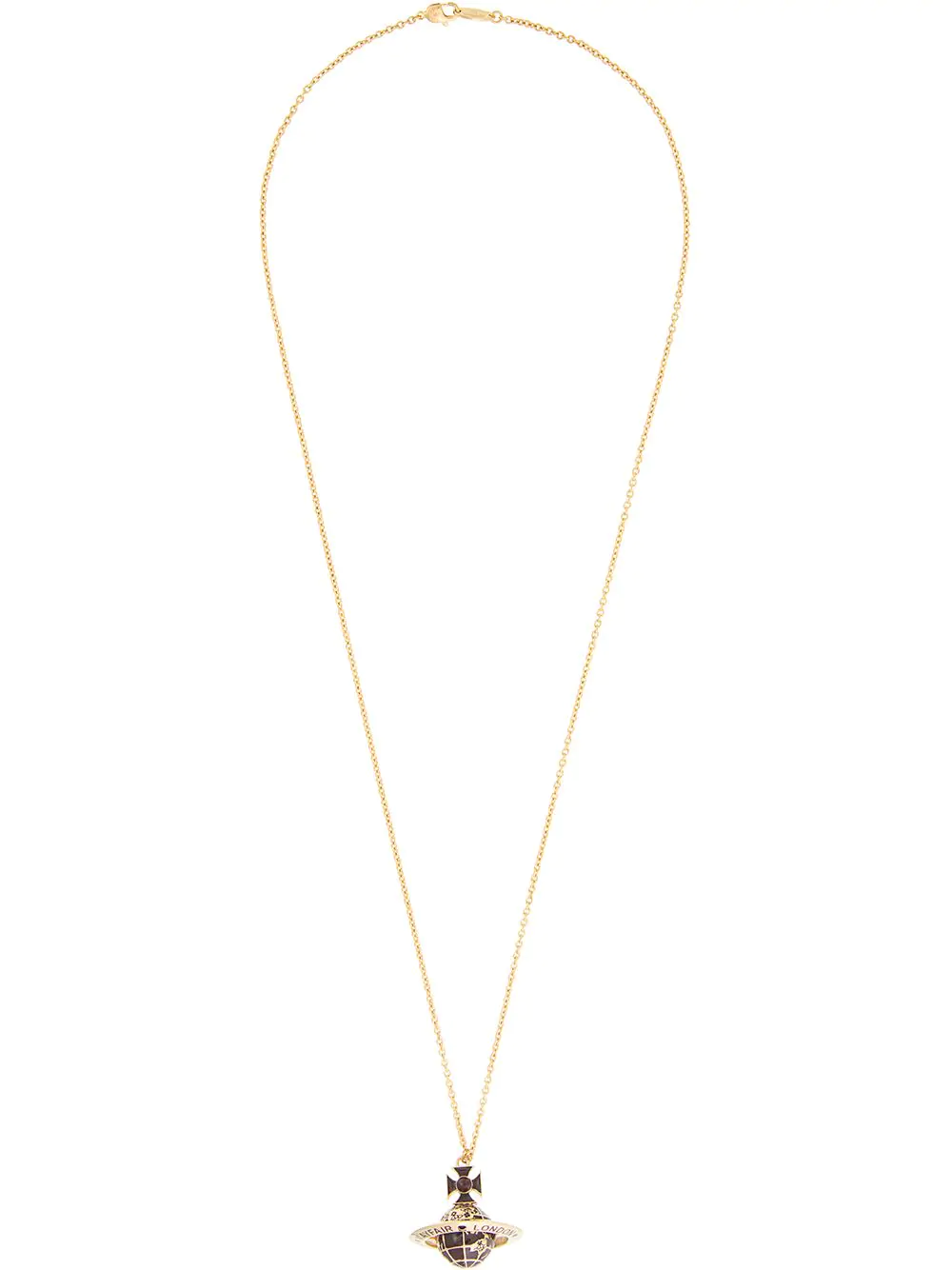 258fd6aa4c8283 Vivienne Westwood Galileo Orb Pendant Necklace - Red | ModeSens