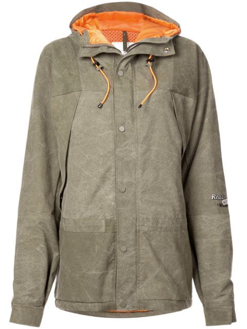Readymade Oversized Hooded Jacket In Green