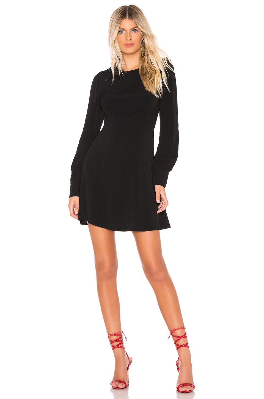 Flynn Skye Lydia Mini Dress In Black.