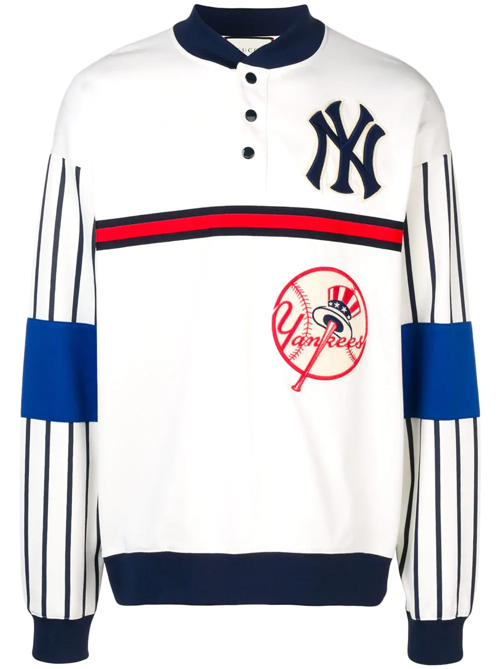 best loved e3cfa 8c1b5 Gucci Sweatshirt With New York Yankees Patch™ - White
