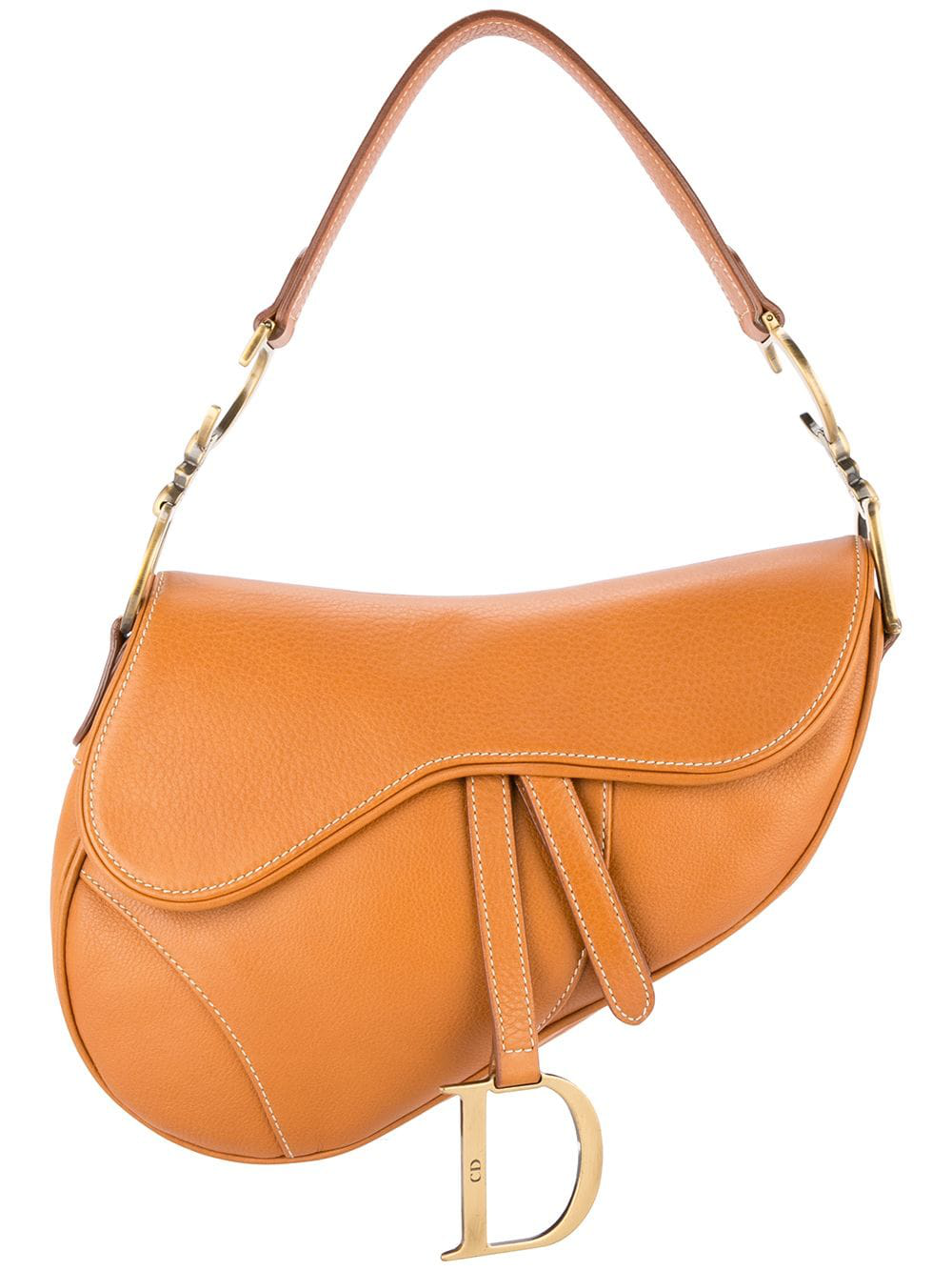 b8d0a80e4eef Dior Saddle Bag In Brown