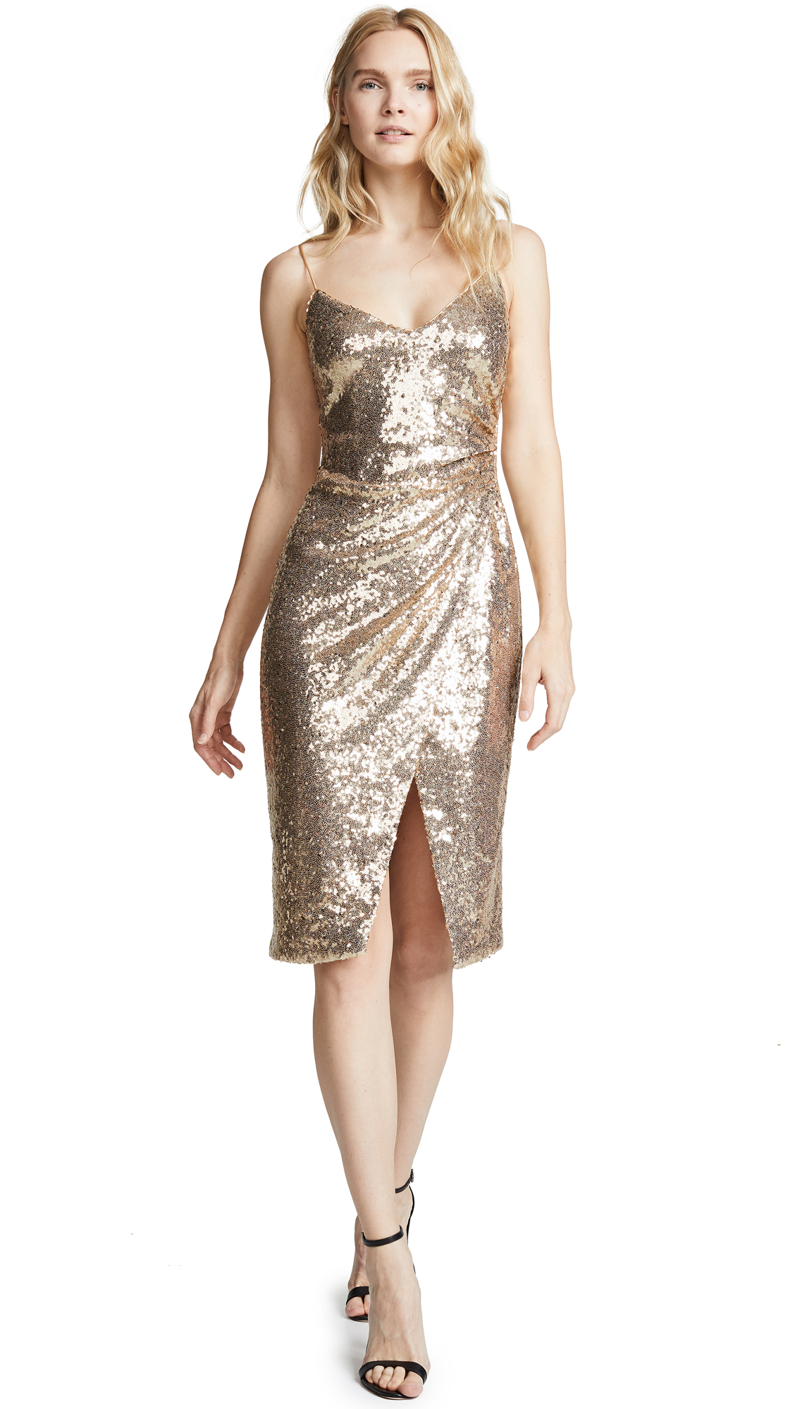 1a618b3e21 Black Halo Bowery Sequin Sheath Dress In Athena