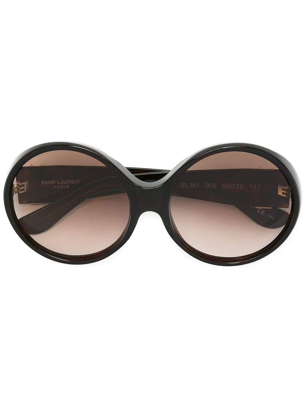 006e12e73ef Saint Laurent 'Sl M1 005' Sunglasses In Brown | ModeSens