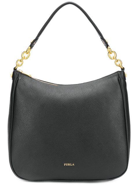 Furla Classic Shoulder Bag In Black
