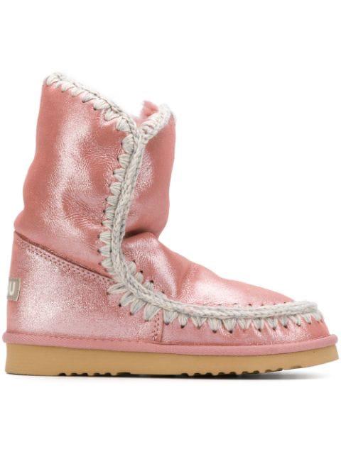 a basso prezzo fef04 b46b4 Mou Eskimo Boots - Pink