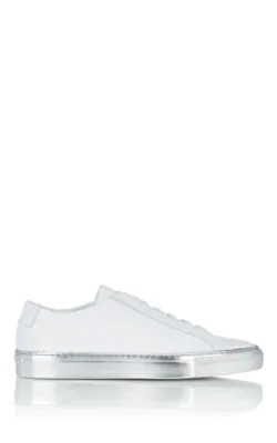 Common Projects Achilles Leather Sneakers In White