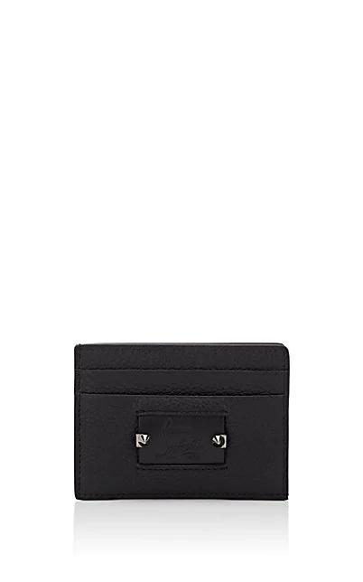 Christian Louboutin Kios Leather Card Case - Black