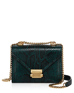 dd616e55287d Michael Michael Kors Whitney Small Leather Shoulder Bag - 100% Exclusive In  Racing Green/