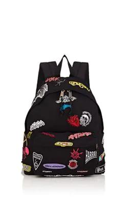 Vetements Canvas Backpack - Black