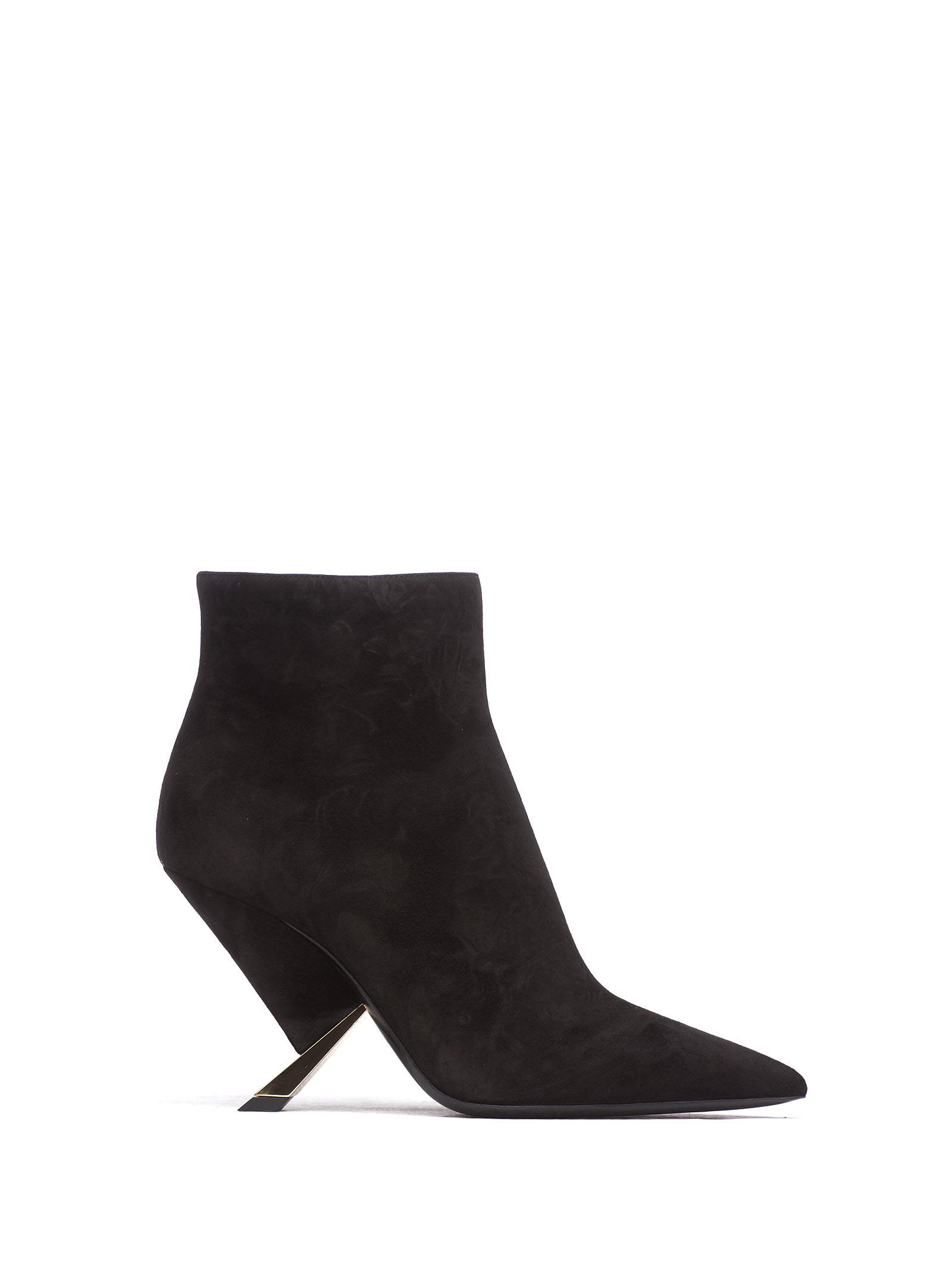 0c4fe0df9b0 Casadei X Blade Ankle Boots In Nero | ModeSens