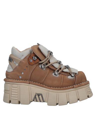 New Rock Nsrm 106 Platform Sneakers In Softy Safari