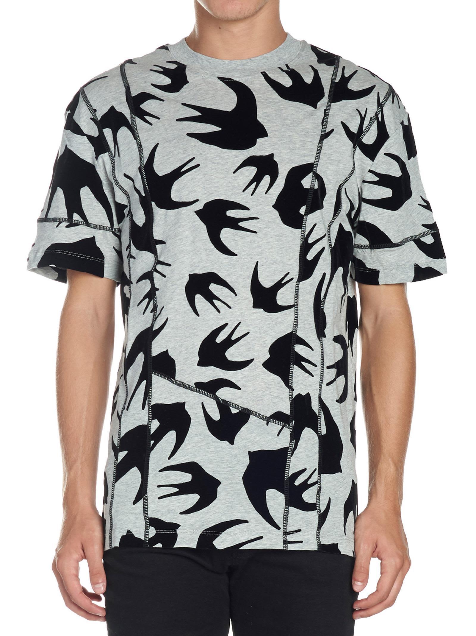 3b650f82f3a744 Mcq By Alexander Mcqueen Mcq Alexander Mcqueen 'Swallow' T-Shirt In ...