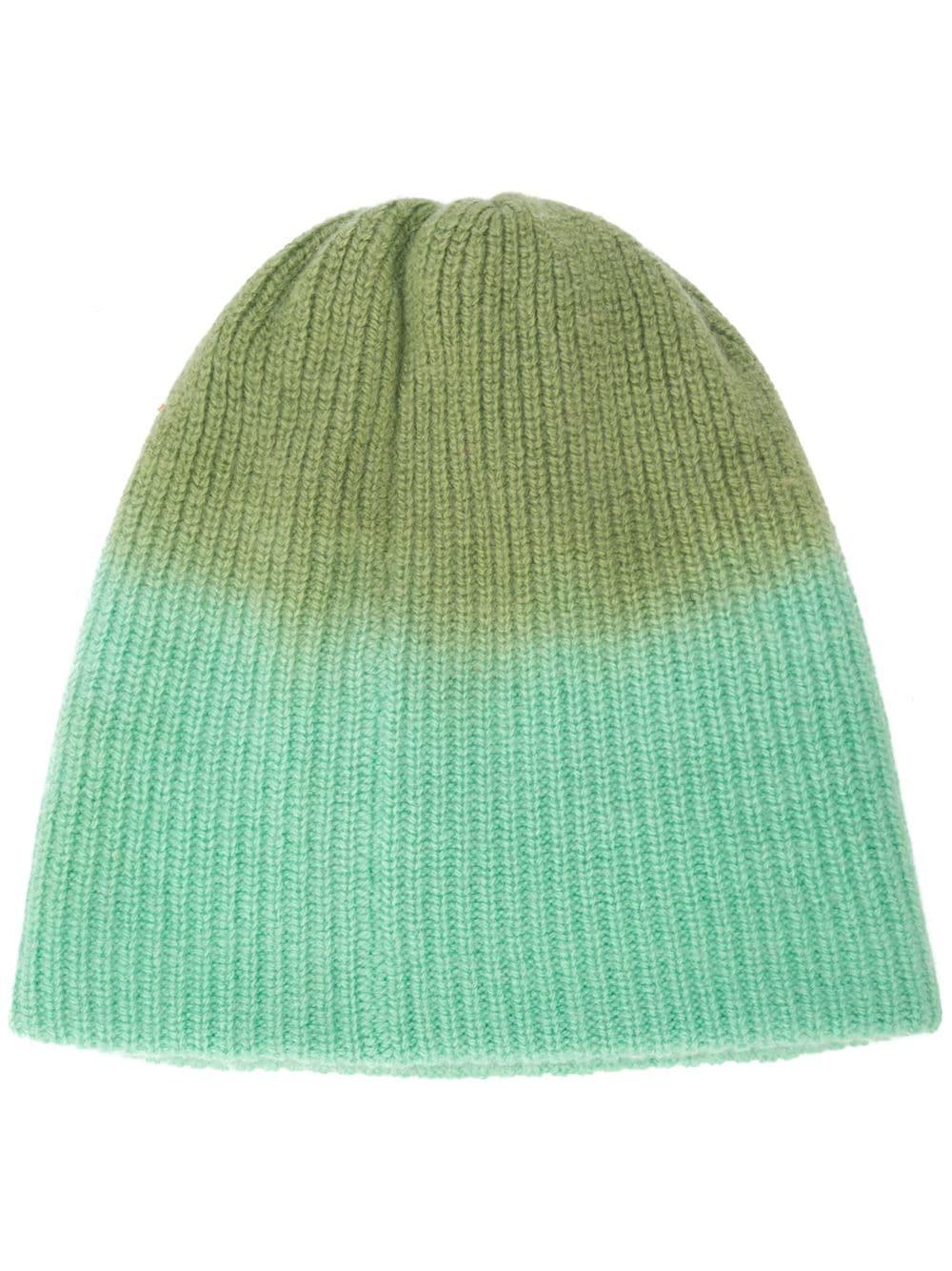 865a9c2cf8b467 The Elder Statesman Dyed Beanie Hat - Green | ModeSens