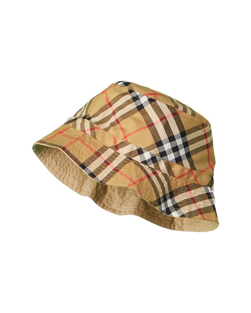 1f9c5ae3a4f Burberry Vintage Check Bucket Hat In Yellow | ModeSens