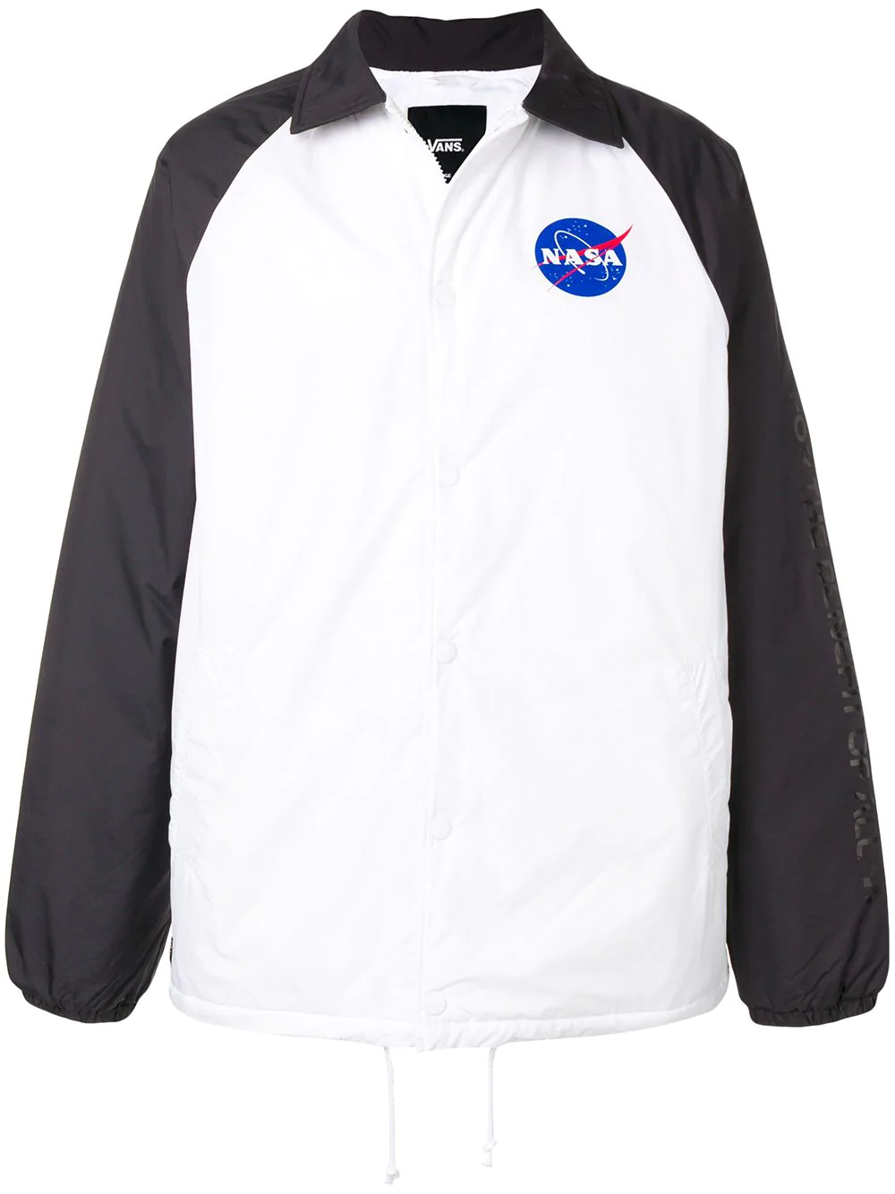 066d61aa85 Vans X Nasa Space Torrey Padded Jacket - White