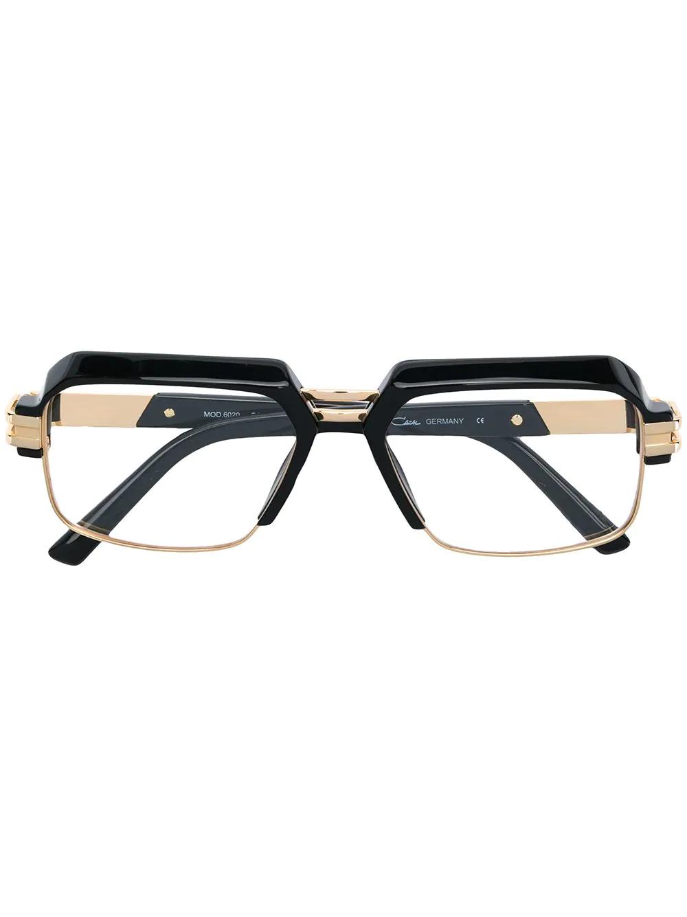 7f5f9a702085 Cazal Classic Square Glasses - Black | ModeSens