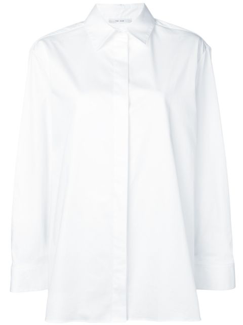 The Row Classic Shirt In White