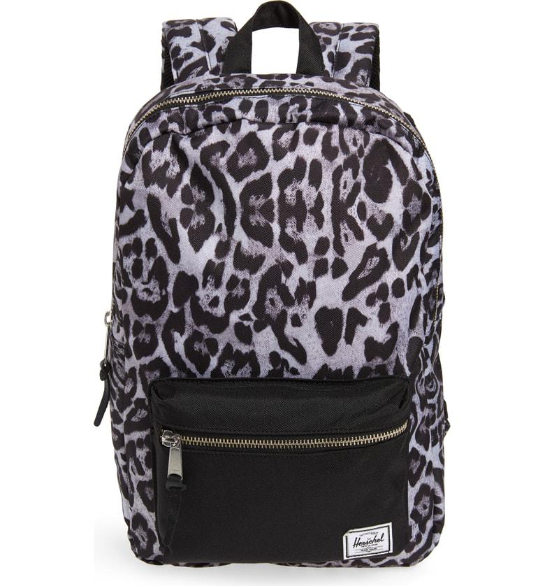 04f46637ff Herschel Supply Co.  Settlement Mid Volume  Backpack In Snow Leopard  Black